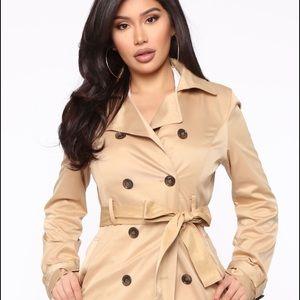 Fashion Nova Trench 🧥 Coat